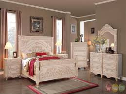 Bedroom Distressed White Bedroom Furniture Luxury Distressed