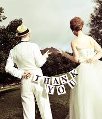 Wedding Decorations Thank You Banner Photo