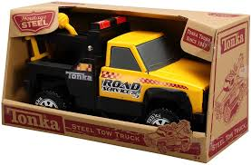 Amazon.com: Tonka Steel Retro Tow Truck: Toys & Games