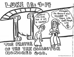 The Parable Of Tax Collector And Pharisee For Kids