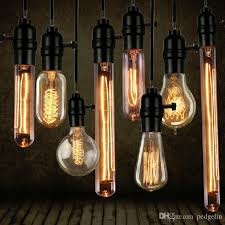 wholesale vintage edison bulb clear glass light bulbs 40w e27