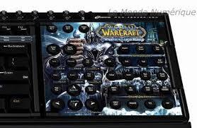 steelseries clavier et tapis de souris world of warcraft