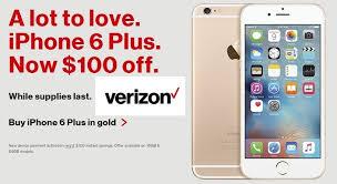 Verizon Valentine s Day 2016 Deals Get $100 f on iPhone 6 Plus