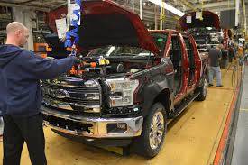 VIDEO: Inside Ford's Redesigned Truck Plant To See How The 2015 F ... Michigan Supplier Fire Idles 4000 At Ford Truck Plant In Dearborn Tops Resurgent Us Car Industry 2013 Sales Results Show The Could Reopen Two Plants Next Friday F150 Chassis Go Through Assembly Fords Video Inside Resigned To See How The 2015 F Announces Plan To Cut Production Save Costs Photos And Ripping Up History Truck Doors For Allnew Await Takes Costly Gamble On Launch Of Its Pickup Toledo Blade Plant Vision Sustainable Manufacturing Restarts Production