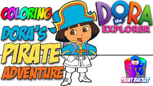 Doras Pirate Adventure Coloring Pages