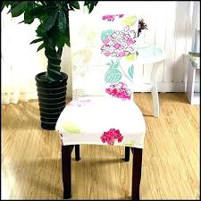 Wingback Chair Covers Patterned Slipcovers Dining Room How To Make