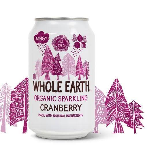 Whole Earth Organic Drink - Cranberry, 330ml