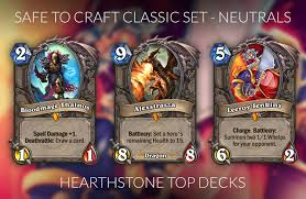 hearthstone crafting guide for the journey to un goro meta