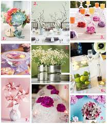 9 Ideas Dedicated To Those Brides On A Budget Who Are Looking For Super Pretty Alternatives The Classic Floral Centrepieces Their Spring Wedding