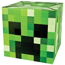 Minecraft Creeper Pumpkin Carving Patterns by Buy Minecraft Creeper Head Mask