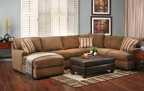 Brown Corduroy Sectional Sofa by Furniture Pretentious Sectional Sofas For Guest Spot Kropyok