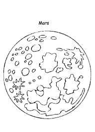 Mars Coloring Pages Gods