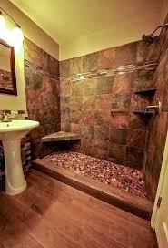 Rustic Bathroom Tile Shower Design Ideas