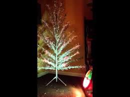 Rotating Color Wheel Vintage Aluminum Christmas Tree
