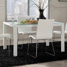 Martina Extension Dining Table White