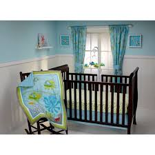 little bedding by nojo ocean dreams 3 piece crib bedding set