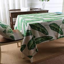 tischdecken grüne pflanzen tischdecke tischtuch