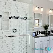 bathroom tile carrara marble subway tile bathroom home design