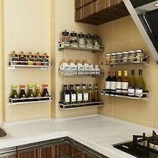 küchenregal gewürzregal küche bad wandboard edelstahl wand