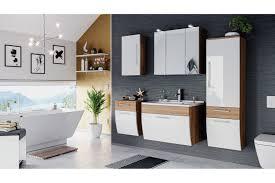 posseik badezimmer salona in eiche hell weiß möbel letz