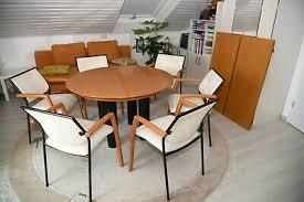 designer esszimmer tonon 6 stühle und einen tisch ebay