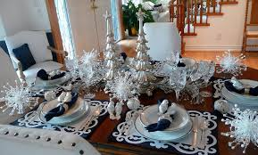 Dining Room Table Decorating Ideas by Christmas Dining Table Decorations Neologic Co