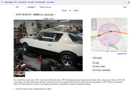 100 Craigslist Cars And Trucks Maryland Bobs Studebaker Resource And Information Portal 1972 Avanti Ii
