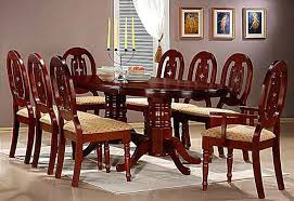 Mahogany Dining Room Set Sets 8 Seats Gallery In Solid Table