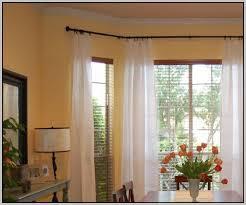 Bay Window Curtain Rods Walmart by Bay Window Curtain Rod U2013 Glorema Com