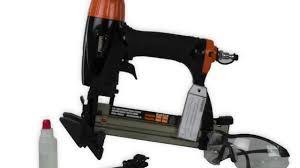 Wood Floor Nailer Gun by Freeman 4 In 1 Mini Pneumatic Flooring Nailer And Stapler Combo