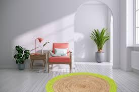 teppich rund grün 120cm
