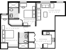 L Shaped Kitchen Floor Plans With Dimensions by Pricing And Floor Plans Northview Ucf