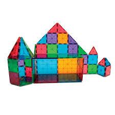 amazon com magna tiles clear colors 74 piece set 14874 toys