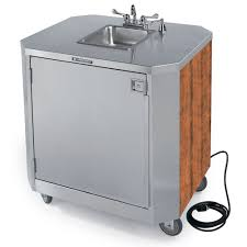 lakeside 9610 portable self contained stainless steel hand sink