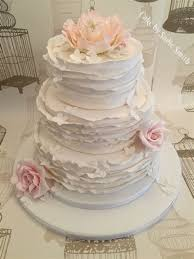 Ruffle Wedding Cake By Sadie Smith