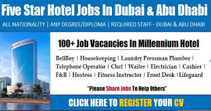 Front Desk Manager Salary In Dubai by Free Employment Free Work Visa In Jobs In Dubai Uae Work
