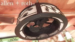 Allen Roth Victoria Harbor Ceiling Fan Manual by Allen Roth Eastview Ceiling Fan Youtube