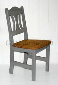details zu stuhl kiefer massiv grau gelaugt geölt küchenstuhl holzstuhl esszimmer stühle
