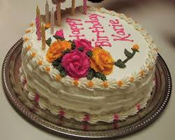 3 beautiful birthday cakes for lover