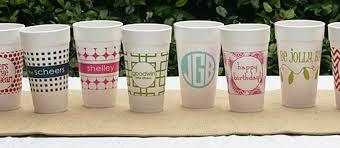 styrofoam cups me&re design