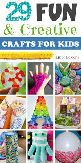 A Ton Of DIY Super Easy Kids Crafts And Activities For Boys Girls Quick