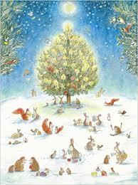 Christmas Tree Amazonca by A Woodland Christmas Advent Calendar Bernadette Watts