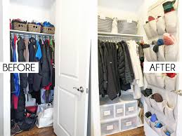 Once The Small Mud Room Coat Closet Was Functioning Well For Whole Family And We Were Confident That Larger Wasnt Needed Coats