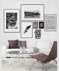 gallery wall idea b w sepia or color photo prints could