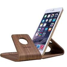 SAMDI Wooden Cell Phone Stand support iPhone 6s Plus 6s Android Universal 5 5 inch