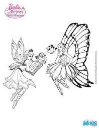 Barbie Mariposa Coloring Sheet More Sheets On Hellokids