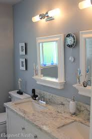 Morning Fog Sherwin Williams Love The Mirrors With Ledges