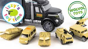100 Hot Wheels Car Carrier Truck WolVol Military Transport Rier And Fire