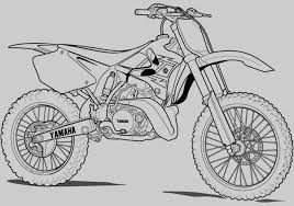 Bike Coloring Pages Printable