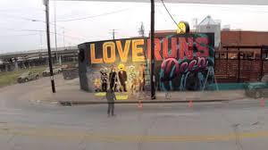 Deep Ellum 42 Murals by Debc Wall Mural Timelapse Dec 2014 Youtube